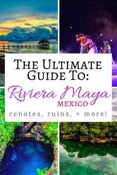 There's just so much to do in Riviera Maya on the Yucatan Peninsula of Mexico. Cenotes, Mayan ruins, and lots of delicious food, you're bound to have a good time. Click through for more things to do in Riviera Maya.