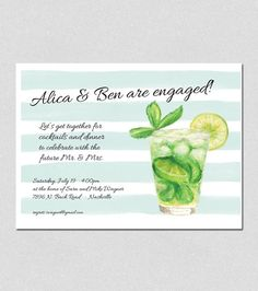 engagement cocktail party invitation wording Layout Pinterest