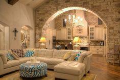 Beautiful stone arch