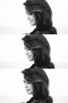 Lilly Collins - HER WAVY HAIR OH GOD IN LOVE <3