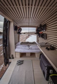 This is the Ryovan Project. It's Saul and Ayaka's Japanese teahouse van conversion! Van Conversion Interior, Camper Van Conversion Diy, Build A Camper, Van Dwelling, Kombi Home, Sprinter Camper, T4 Camper, Mercedes Sprinter, Mercedes Benz