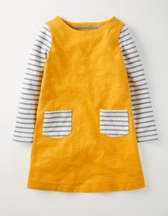 Honeycomb Stripy Dress Boden