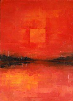 """abstract-media:  """"Rojo"""" by Łukasz KoniuszyMore works:https://www.behance.net/hir"""