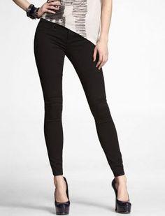LOVE IN BLACK!!!-EXPRESS Stella Extreme Stretch Jean Legging