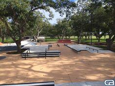 our custom backyard skatepark work