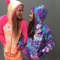 Behind the scenes goofing around in our favourite onesies! #girls #love #fun #goofy #silly #cute #onesie #friends #photoshoot #smile #comfy #style #yyc #instagood #tripleflip