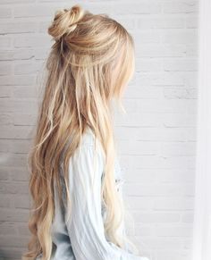 Top Knot hairstyle 2016 2017