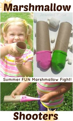 how to make a marshmallow shooter with a balloon