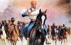 thewomenofwar:  Mai Bhago was a female Sikh who led Sikh soldiers against the Mughals in 1705. When male soldiers decided to desert their co...