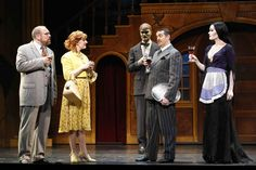 addams family musical set design - Google Search