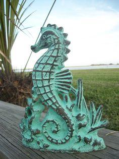 Cast Iron Seahorse Door stop