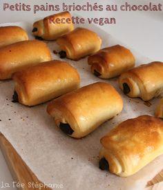 La Fée Stéphanie: Petits pains briochés au chocolat faits-maison avec la…