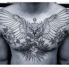New tattoo ideas for guys inspiration chest piece Ideas - Tattoo Chest Tattoo Wings, Eagle Chest Tattoo, Cool Chest Tattoos, Chest Piece Tattoos, Cool Tattoos, Chest Tattoos For Guys, Torso Tattoos, Stomach Tattoos, Body Art Tattoos
