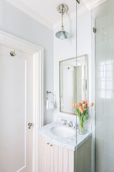 small guest bathroom   McGriff Architects