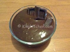 Crema al cioccolato fondente | Kikakitchen
