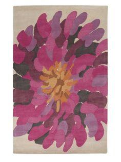 rug--Surya: Shade sof purple and grey