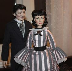 Franklin Mint dolls  Rhett And Scarlett