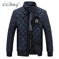 Cheap chaquetas plumas hombre, Buy Quality pluma hombre directly from China quilted jacket men Suppliers: 2017 Casual Quilted Jacket Men Warm Black Brand Outwear Chaquetas Plumas Hombre Mens Jackets Coat Stand Collar Slim Clothes Men's Coats And Jackets, Winter Jackets, Black Jackets, Casual Jackets, Warm Jackets, Women's Coats, New Mens Fashion, Men's Fashion, Fashion Guide