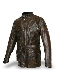 Belstaff Men's Leather Panther Jacket