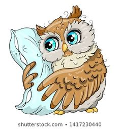 Explore high-quality, royalty-free stock images and photos by Svesla Tasla available for purchase at Shutterstock. Cute Owl Drawing, Cute Drawings, Clipart, Cute Bunny Cartoon, Owl Wallpaper, Quilling Animals, Owl Pet, Owl Pictures, Colouring Pics