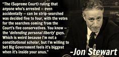 The Always Amazing Jon Stewart...