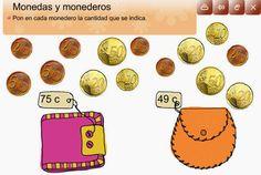 Maestra de Primaria: Monedas y billetes de euro