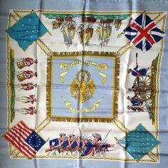 Treaty of Versailles scarf by l r paris