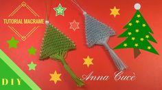 "Macrame Christmas tree / Tutorial macramè ""Albero di Natale""/ Diy tutorial"