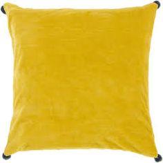 lemon yellow throw pillows - Google Search