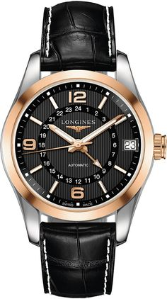 @longineswatches Conquest Classic #add-content #bezel-fixed #bracelet-strap-alligator #brand-longines #case-material-steel #case-width-42mm #date-yes #delivery-timescale-1-2-weeks #dial-colour-black #gender-mens #gmt-yes #l27995563 #luxury #movement-automatic #official-stockist-for-longines-watches #packaging-longines-watch-packaging #style-dress #subcat-conquest #supplier-model-no-l2-799-5-56-3 #warranty-longines-official-2-year-guarantee #water-resistant-50m
