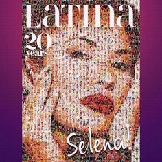 Selena Was Chosen as the 20th Anniversary Cover Star of  Latina Magazine!!!!  #CoverStar #Icon #Legend #NeverForgotten