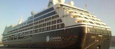 Azamara Quest at the port of Souda | CHANIA POST