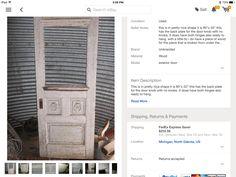 For Exterior Back Door;; Current Dooru003d 31+ X 79.5; This Door