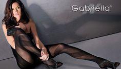 Fühlen Sie Grazie von Gabriella. Modische Strumpfhose. Verzaubern sich selbst und auch andere.