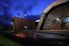 Unique Futuristic Wood House by Innovarchi Architect #architecture