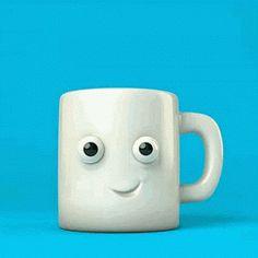 mug tasse cafe chaud brulant hot coffee matin morning petit dejeuner Image, animated GIF Gif Café, Animated Gif, Coffee Gif, My Coffee, Morning Coffee, Coffee Barista, Black Coffee, Coffee Break, Coffee Drinks