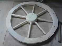 How to Make a Replica Wagon Wheel (with Pictures) - wikiHow