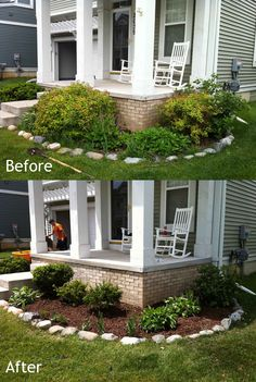 Garden Design Before And After garden design: garden design with before and after landscaping on