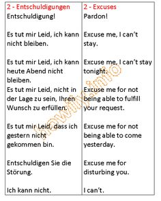 German Learners. the word