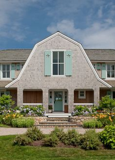 Family Style Beach House traditional exterior