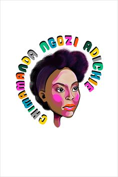 Chimamanda Ngozi Adichie, 2018 Chimamanda Ngozi Adichie, Rosa Parks, Artist Gallery, Pigment Ink, Art Fair, Limited Edition Prints, Watercolor Paper, Illustration Art, Gallery Wall