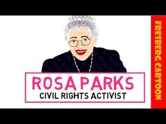 Rosa Parks for Kids! Watch this educational video for children with a Rosa Parks. - Black History for kids (Educational videos for students) - 3rd Grade Social Studies, Kindergarten Social Studies, Teaching Social Studies, Black History Month Activities, History For Kids, Women In History, Ancient History, Rosa Parks For Kids, Rosa Parks Biography