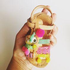 Sandalo multicolor etnica baby