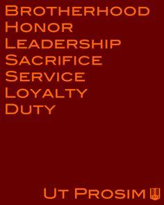 Ut Prosim: That I may serve