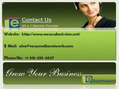 Easy Submission simplifies the complex task of website submission to search engines, article submission, directory submission service and social bookmarking for optimizing websites.