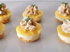 Mini cheese cakes salés (à faire dans des caissettes)