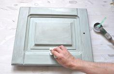 Puertas de cocina con chalk paint versante