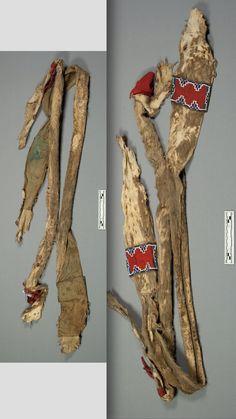 Kiowa bowcase and bandolier, quiver missing. NMNH