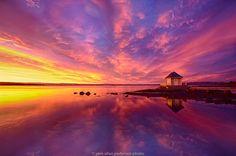 boathouse in sunrise by Jørn Allan Pedersen on 500px