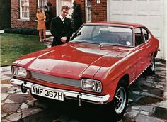 1969 Ford Capri - Never has a family car looked better than this. And I always loved those Rostyle wheels.